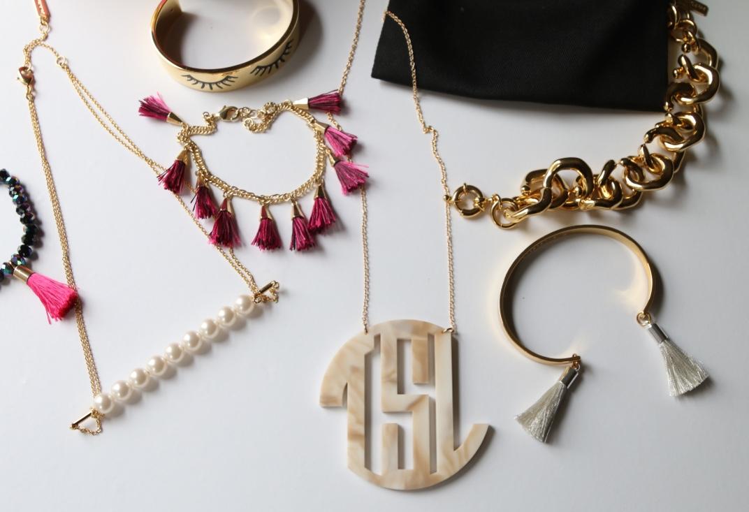 Extra large Monogram Necklace