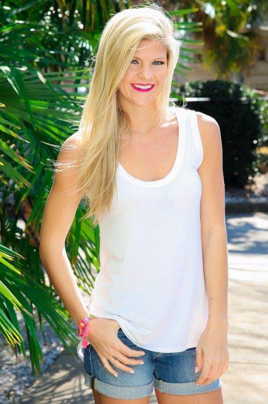 White Tank Top Outfit