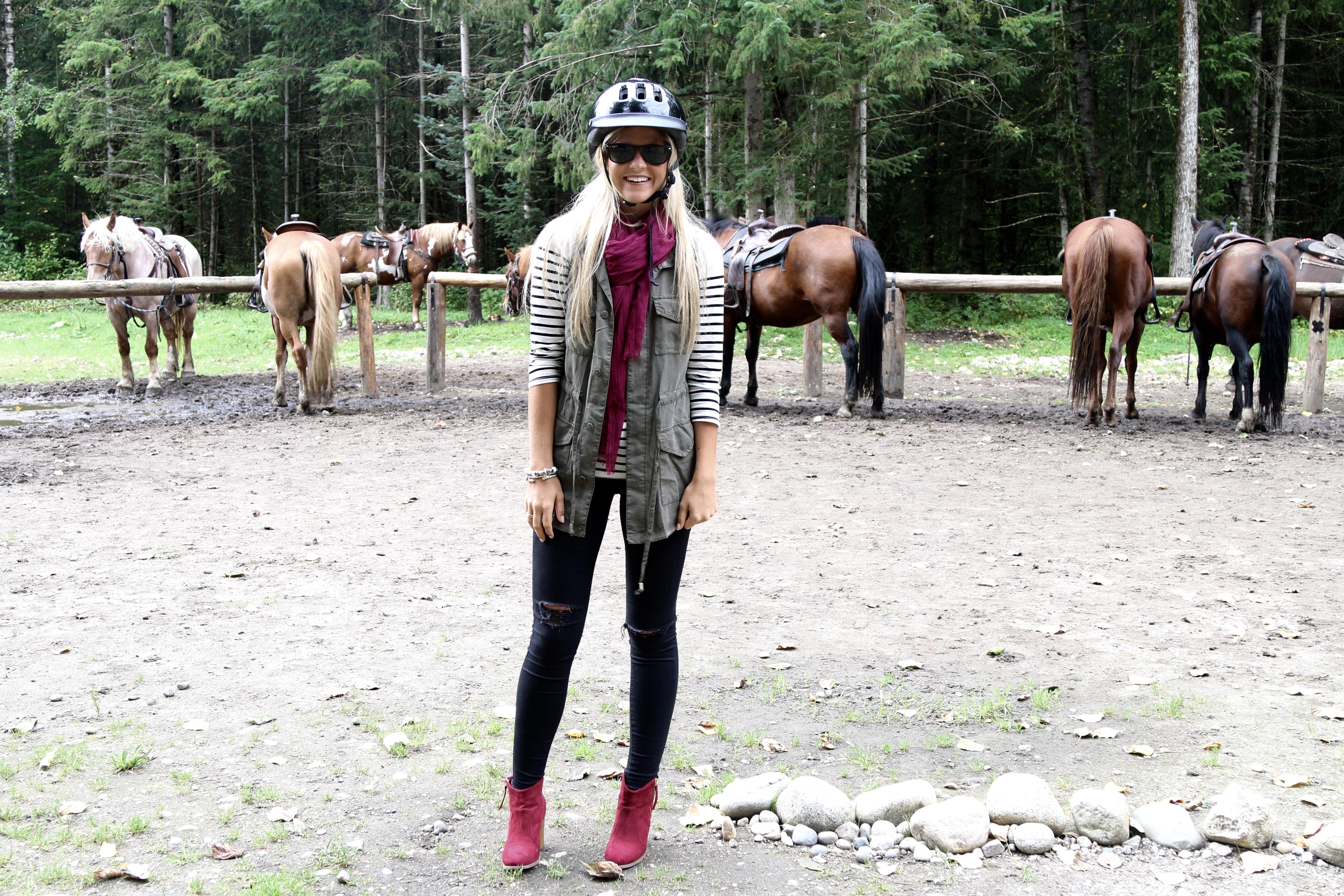 Horseback Riding Outfit