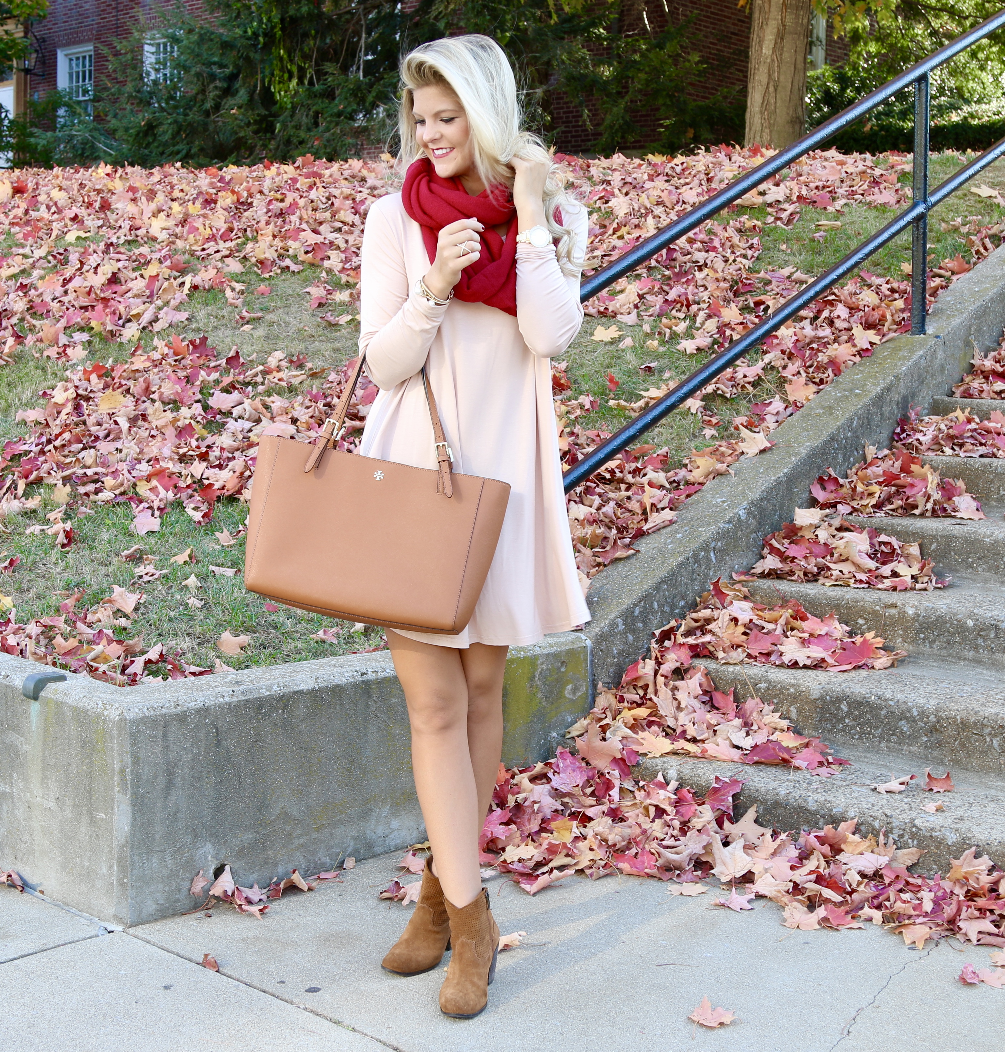 Fall Style! Booties & a Dress!