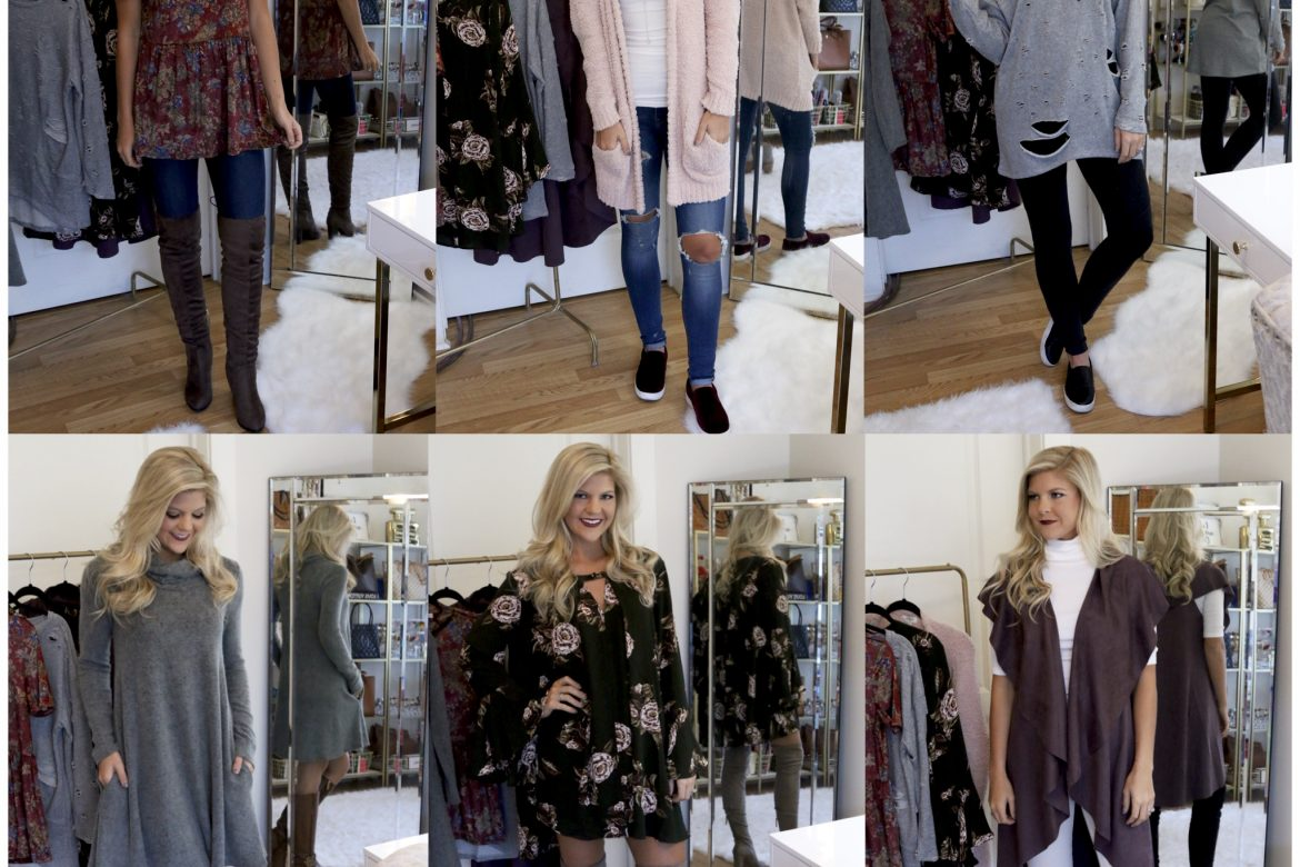 Fall Styles w/ Hazel & Olive Boutique