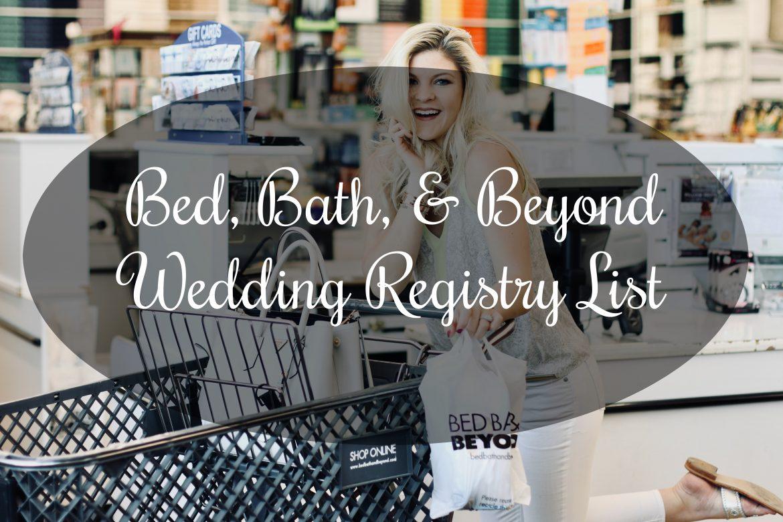 Wedding Registry @ BB&B