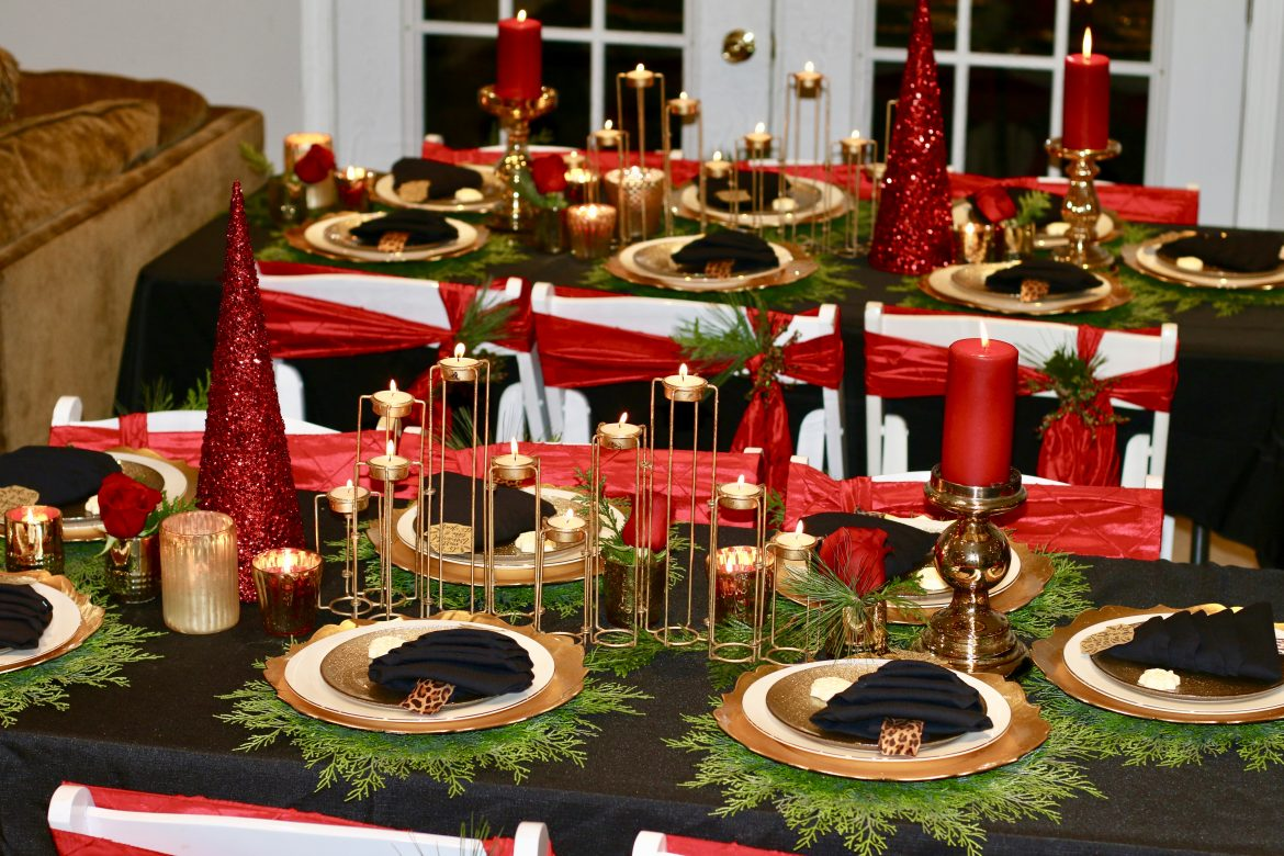 Decorate your Tables for the Ultimate Christmas Party!
