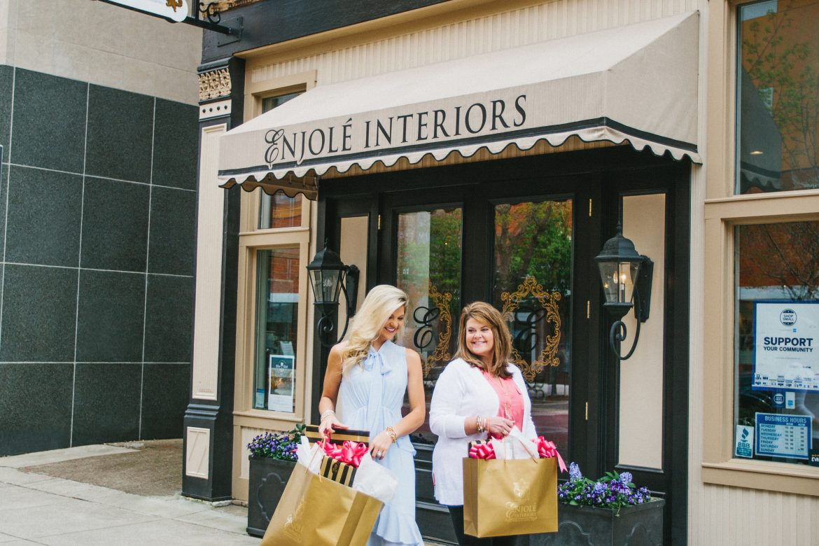 Mother + Daughter Event + Style Show, with Enjole Interiors