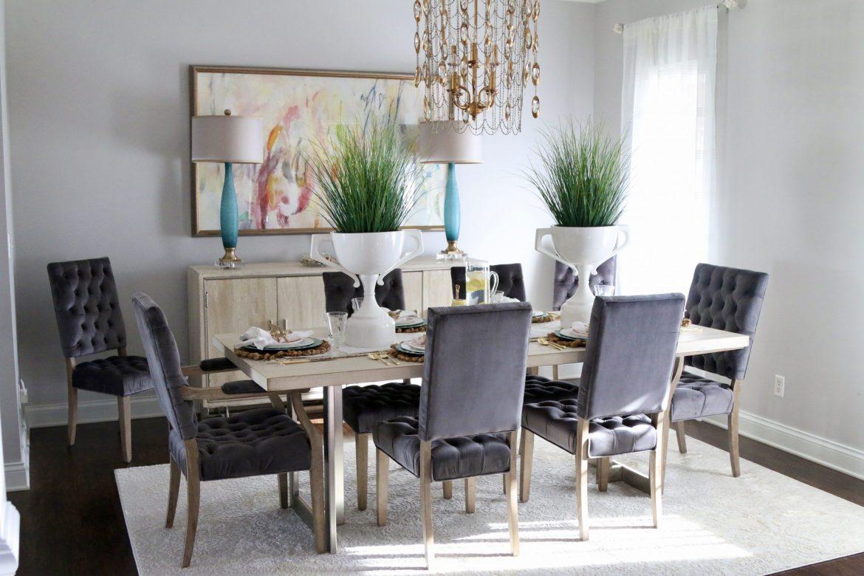 Dining Room Spring Spruce-Up